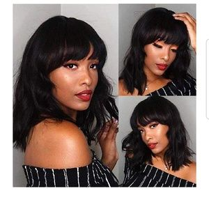 Nwt 12.5in synthetic fiber wig.